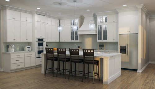 6300 Hazeltine Dr. Kitchen Area Rendering
