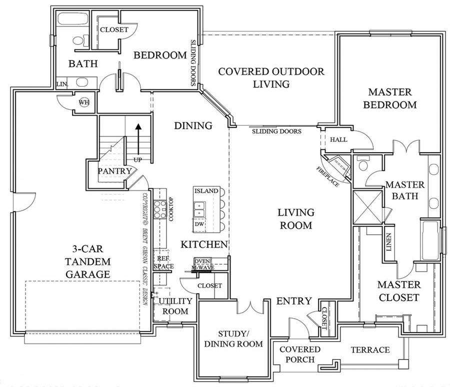Beaumont I Floorplan