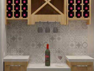Dawson Model Wine Room