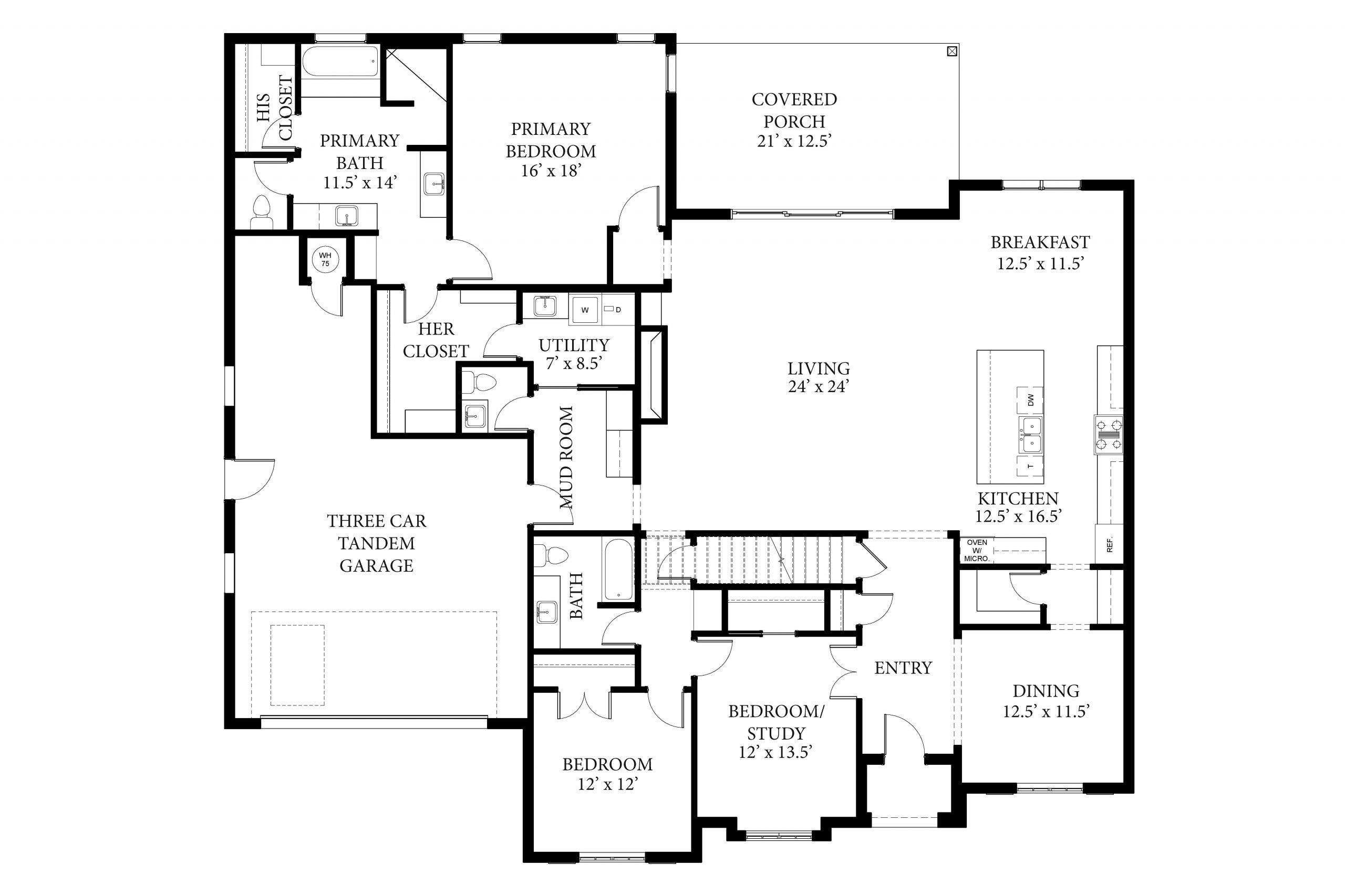 Dawson I Floor Plan (1)