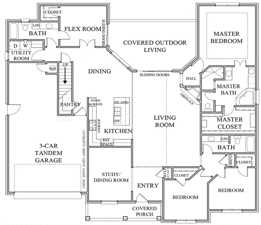 Sheldon Floorplan