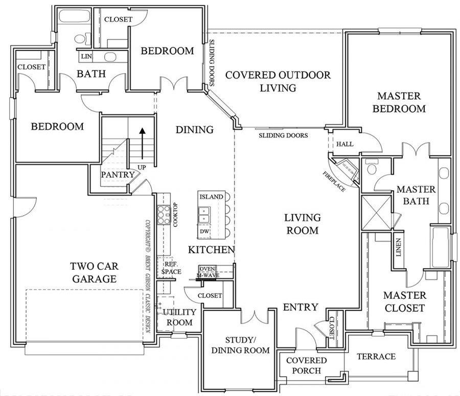 Beaumont II Floorplan