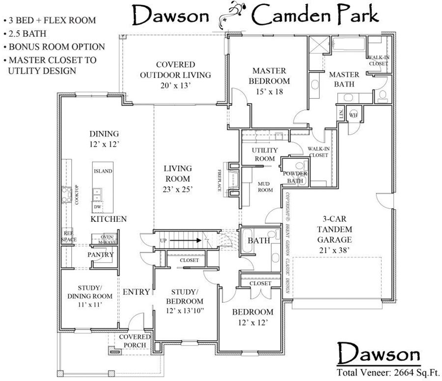 Dawson Floorplan