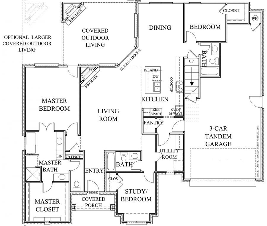 St. Germaine Floor Plan Version 2