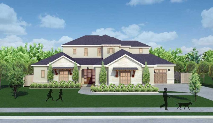 6332 Wentworth Dr Exterior Front Rendering