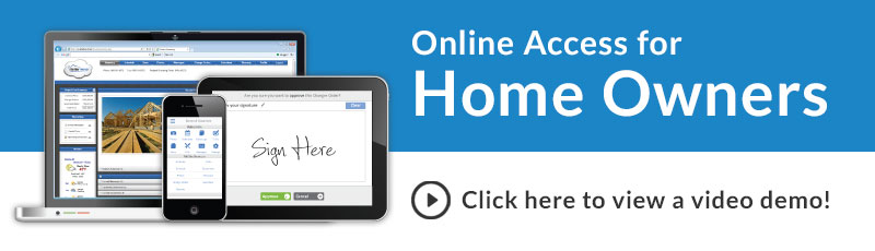Online Access for Home Owners and Video Demo