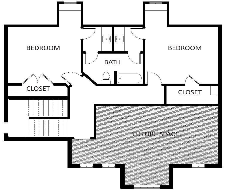 800 Turnberry Floorplan 2nd floor