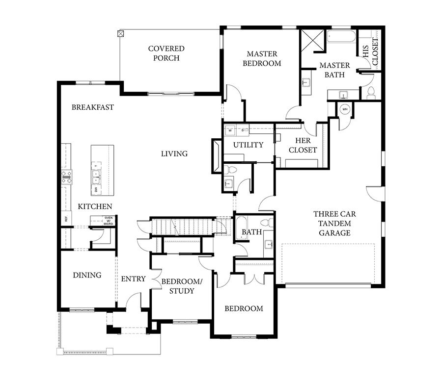 Dawson II Floorplan