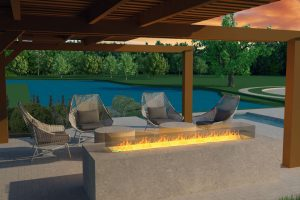 Waterstone-Clubhouse-Exterior-Firepit