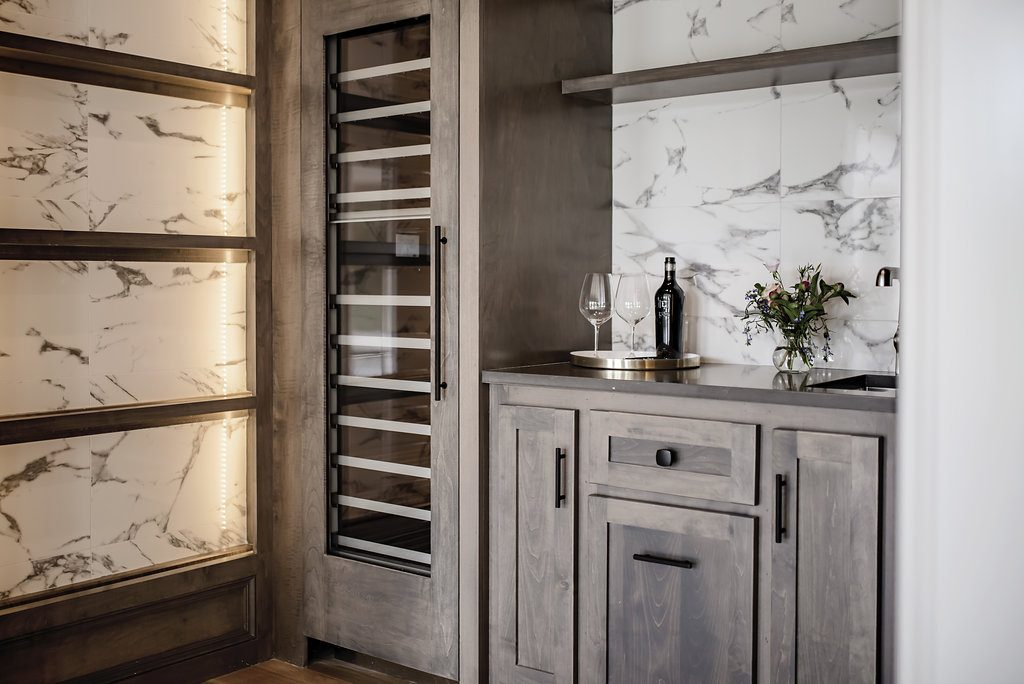 Personalized Space - wine room
