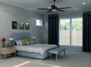 16416 Rhone Master Bedroom