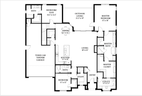 2132 Floor Plan