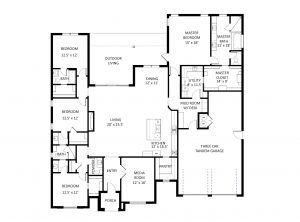 2901 Gold Finch Floor Plan Labeled