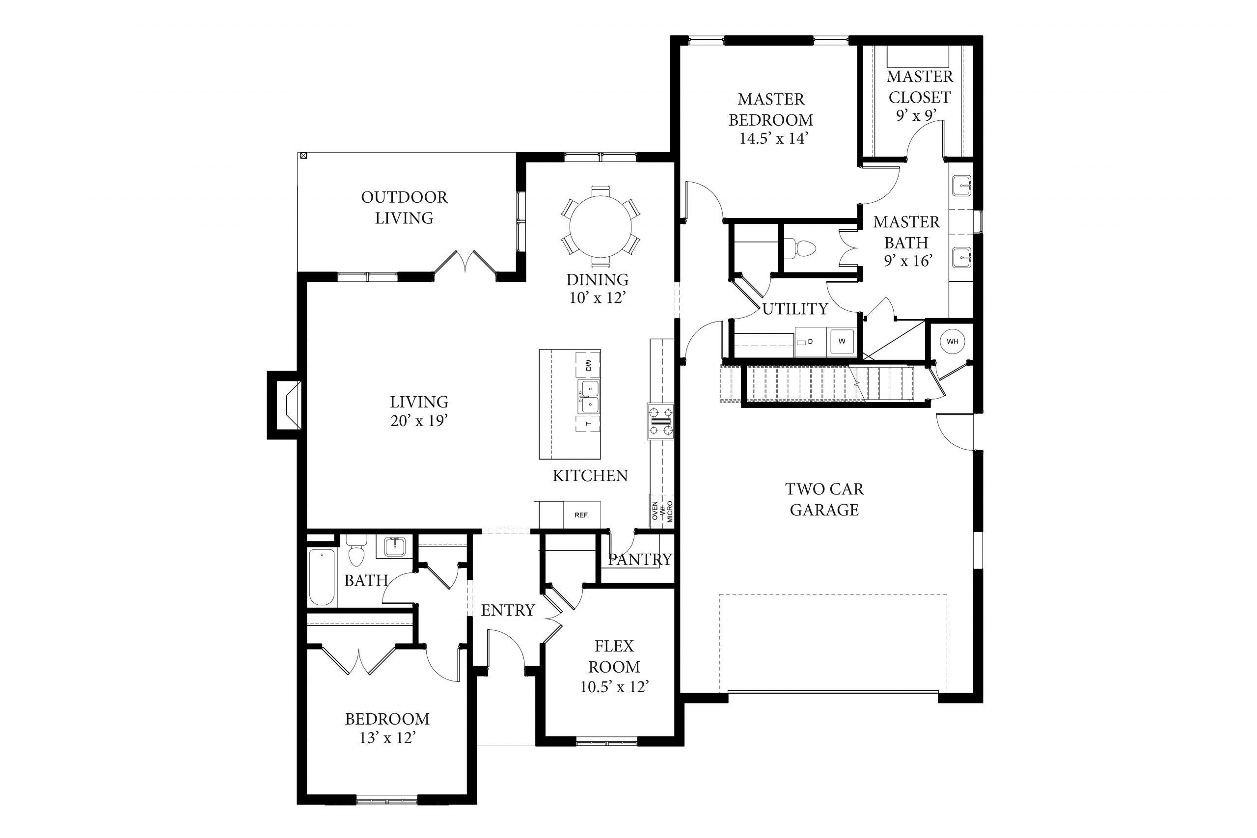 16409 La Crema - Preston - Floor Plan