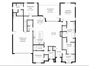 16413 Chablis - Floor PLan