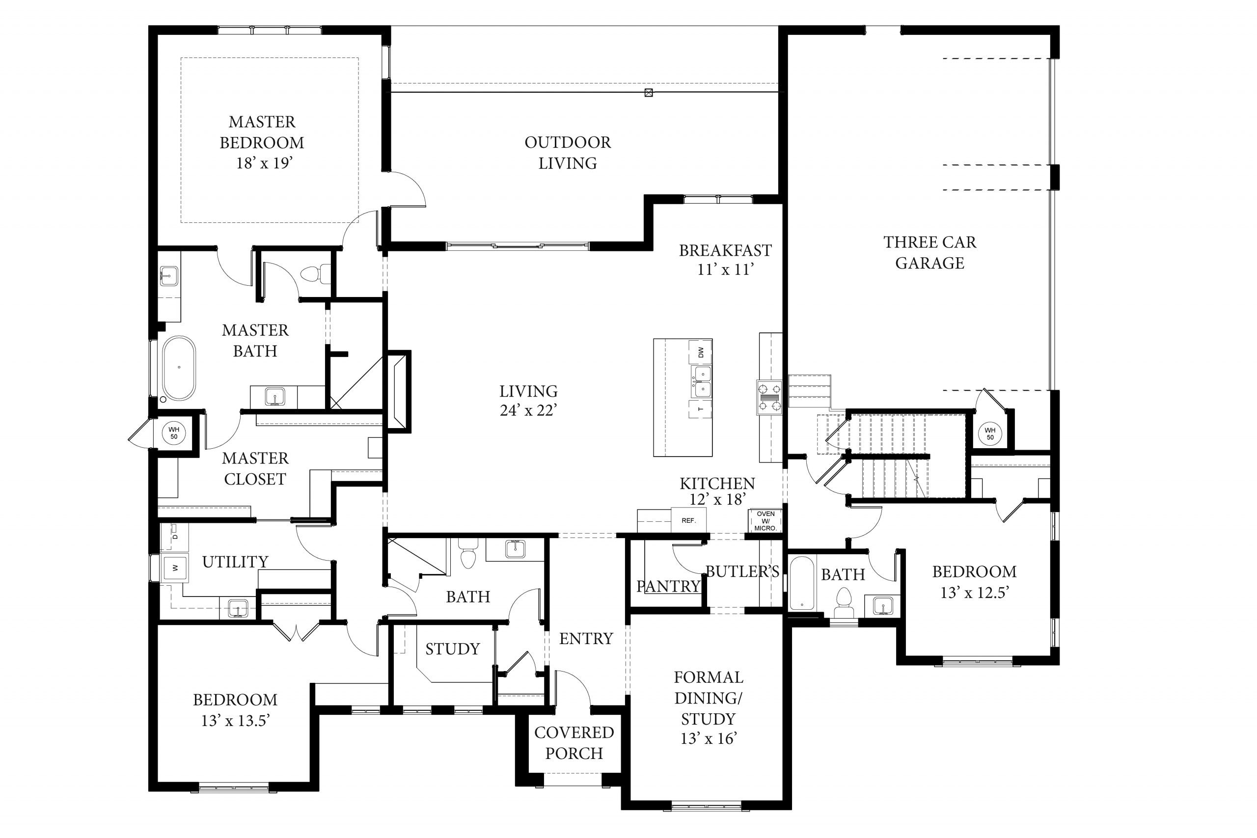 2233 Pallante Floor Plan