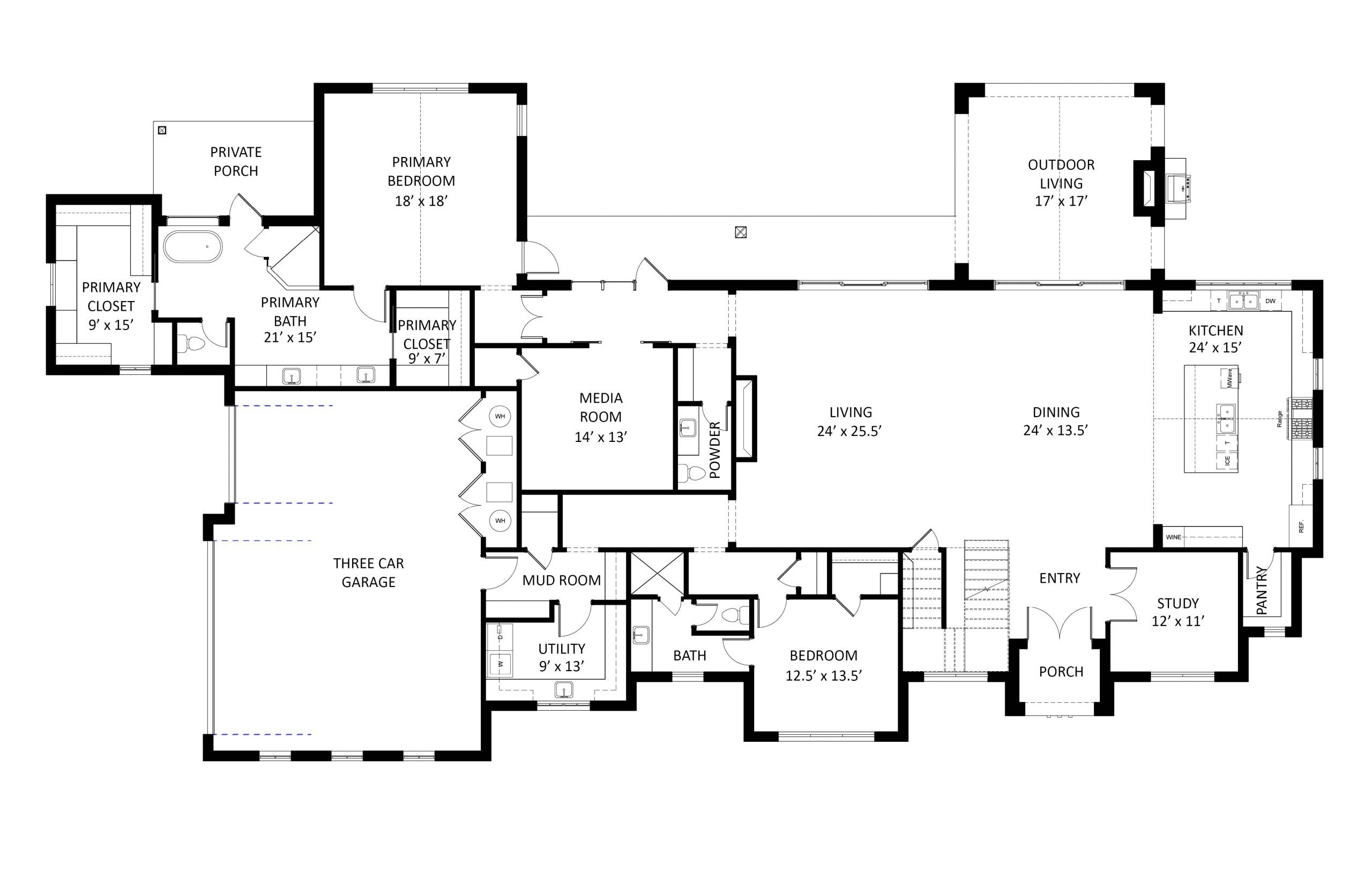 9617 Lakeway Run Floor Plans