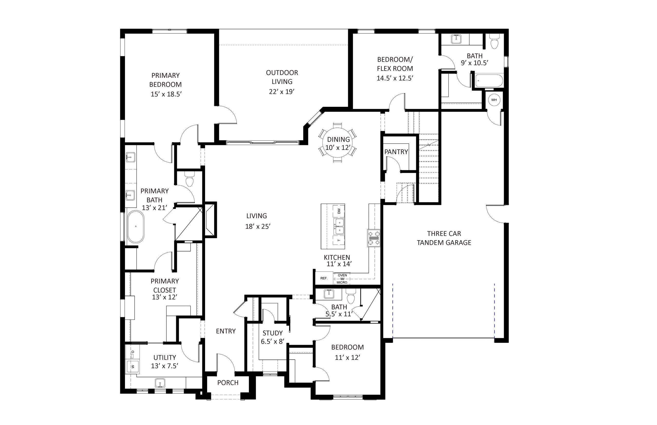 Bradford I Floor Plan