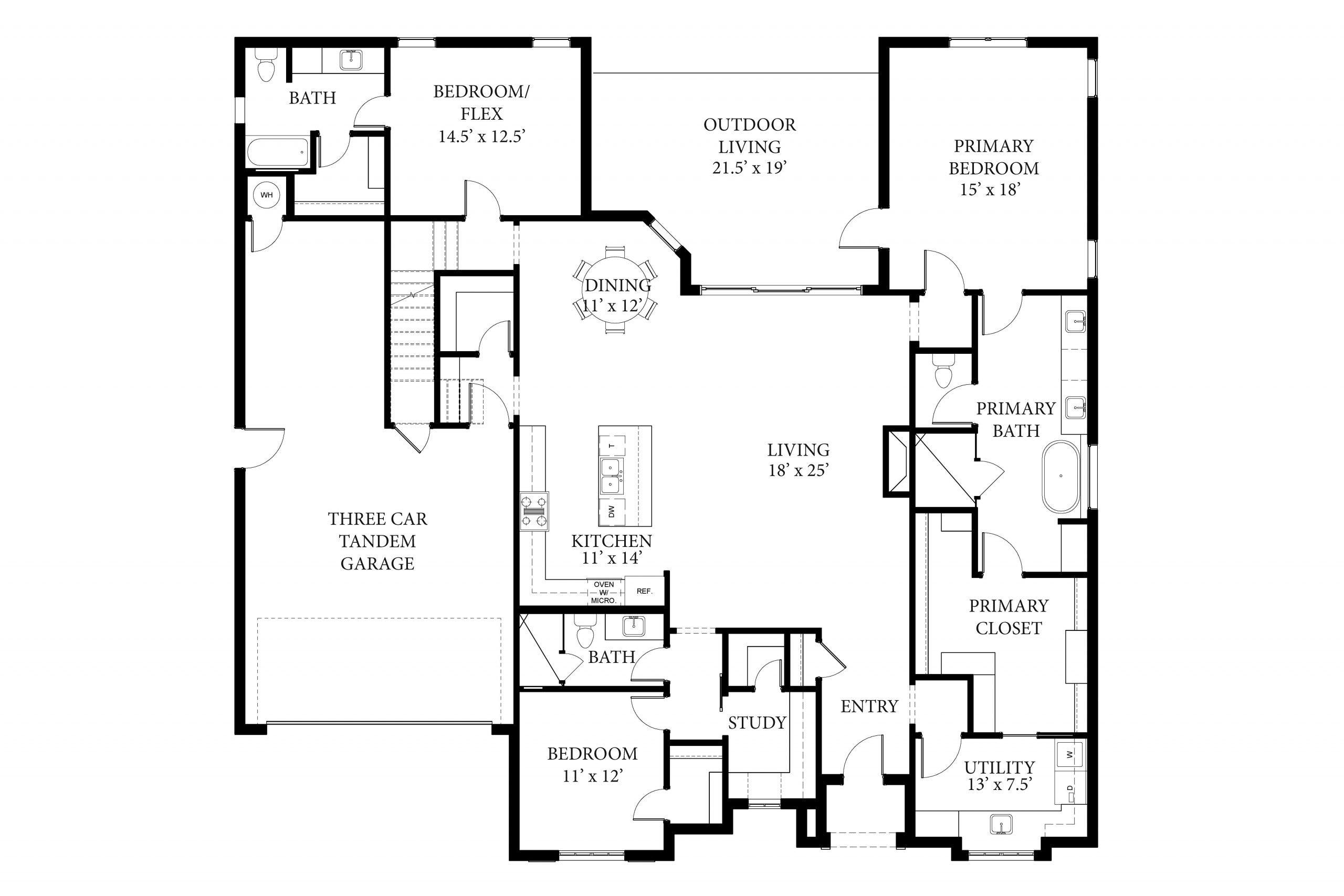 Bradford II Floor Plan