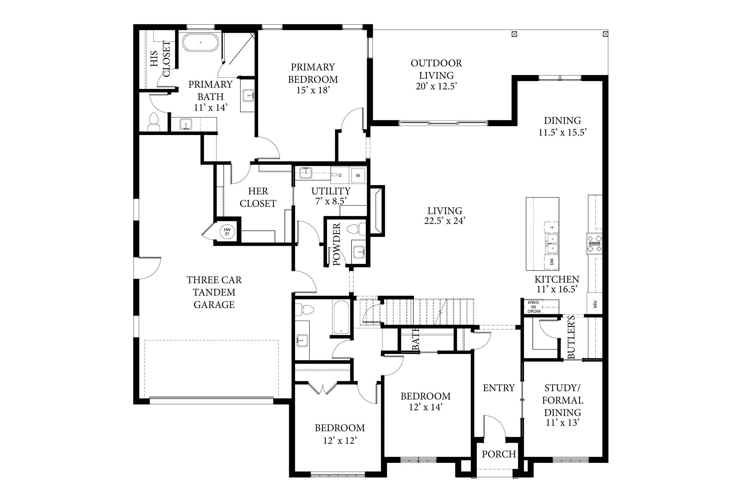 3616 Pasqual - Dawson - Floor Plan
