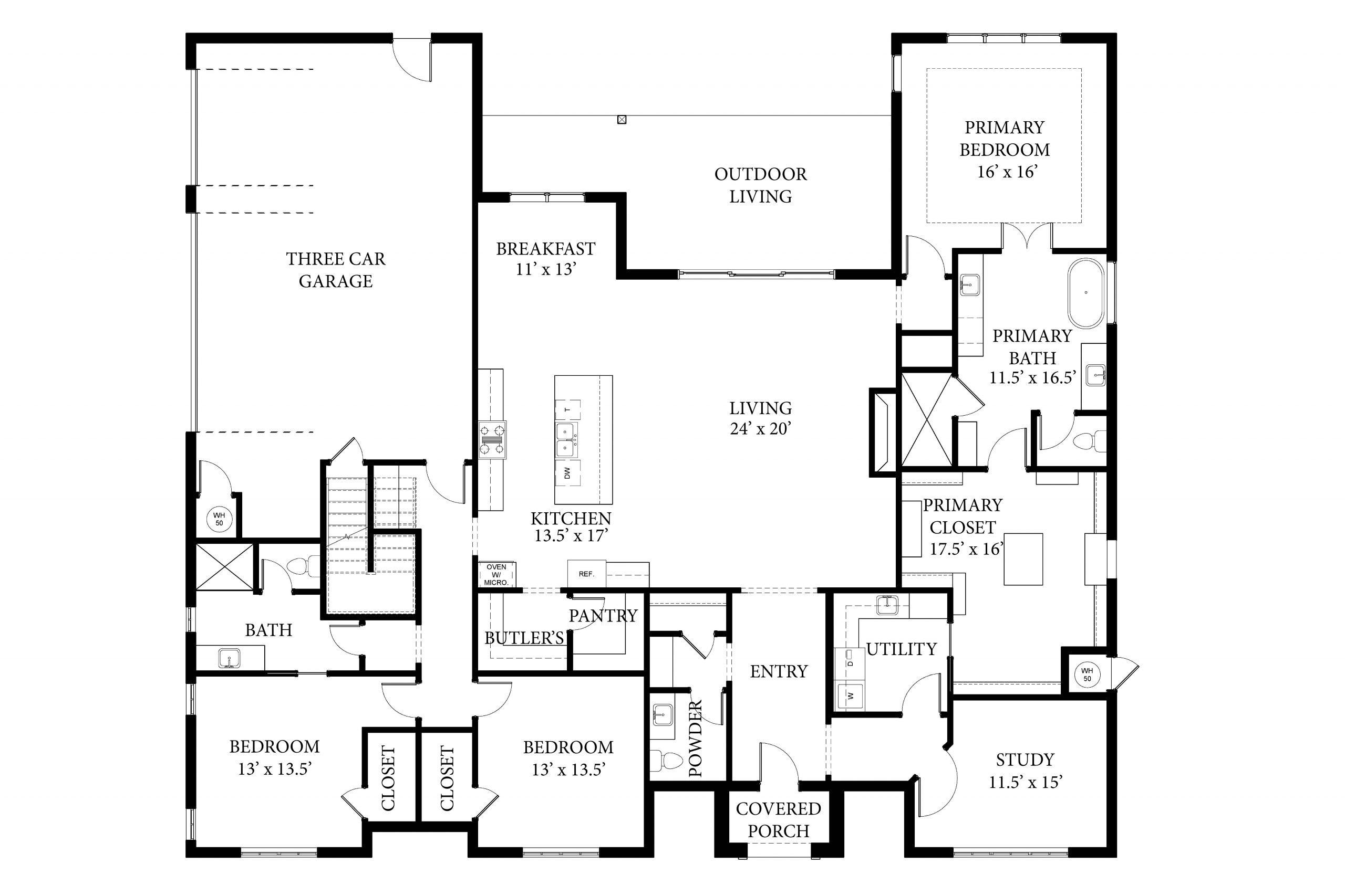 2133 Pallante Floor Plan