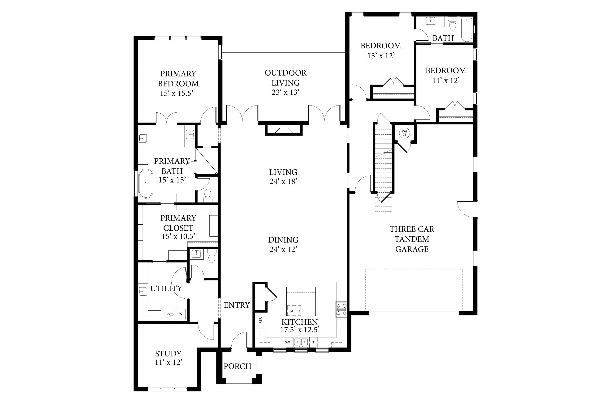 2217 Pallante Weston II Spec Floor Plan